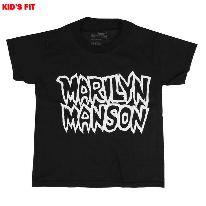 Kinder T-shirt Marilyn Manson - Classic Logo