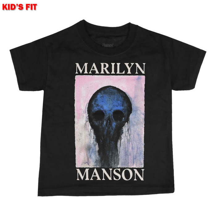 Kinder T-shirt Marilyn Manson - Halloween Painted Hollywood