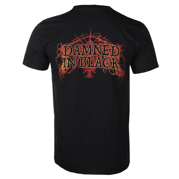 Herren T-Shirt Immortal - Damned In Black 2020 - RAZAMATAZ