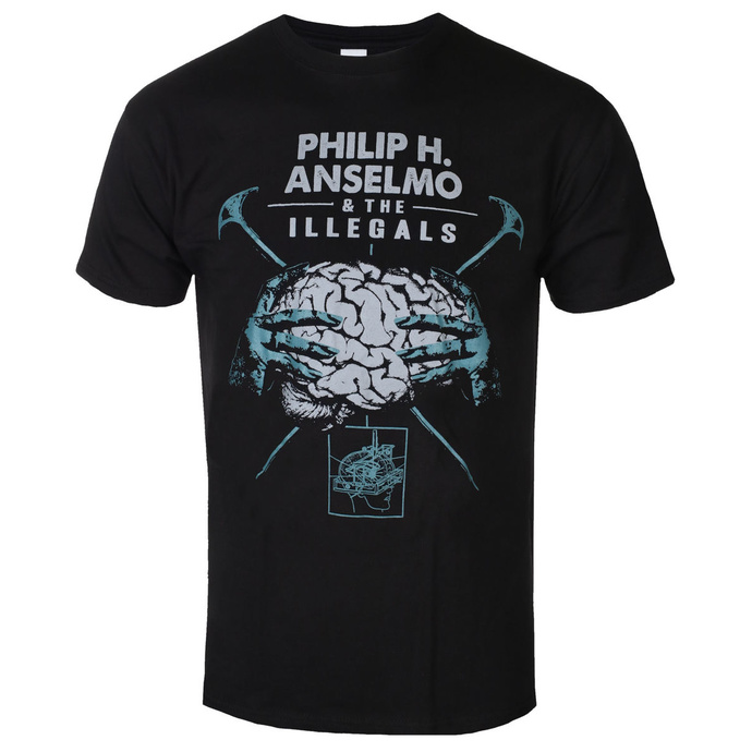 Herren T-Shirt Philip H. Anselmo & The Illegals - Brain - RAZAMATAZ
