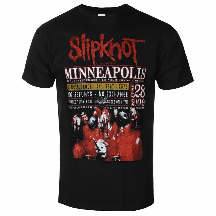 Herren T-Shirt Slipknot - Minneapolis '09