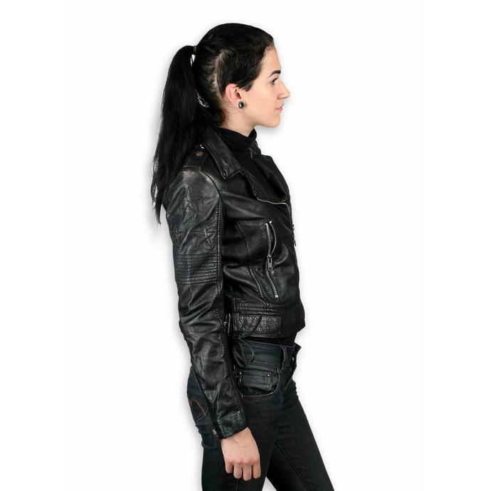 Damenjacke (Metal Jacke) - WONDER WOMAN - LAMEV MET/SCHWARZ