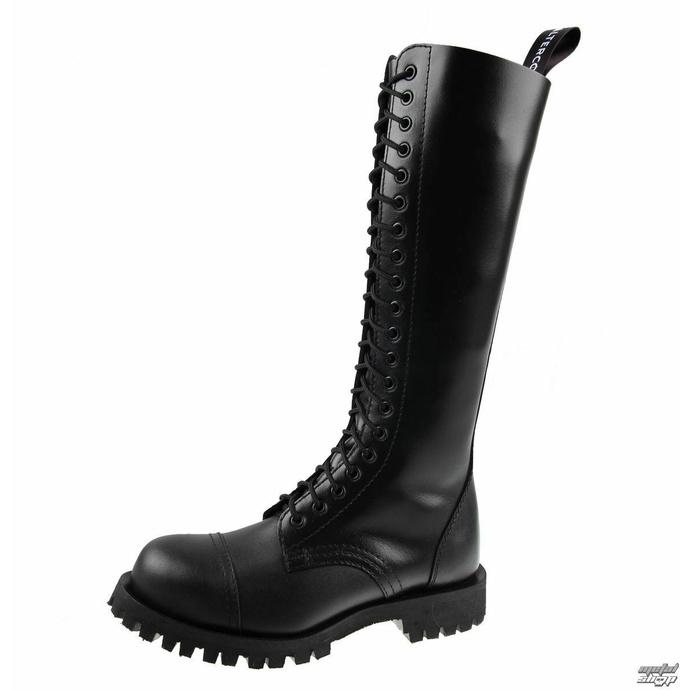 Stiefel ALTERCORE - 20 Ösen - Schwarz