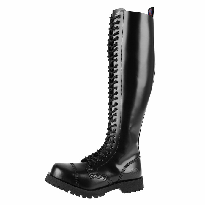Schuhe Boots NEVERMIND - 30-loch - BLACK POLIDO