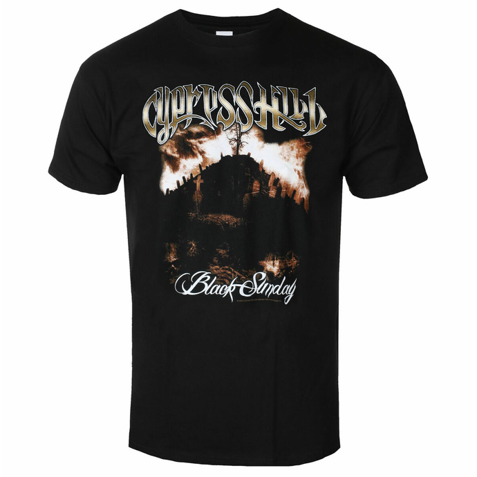 Herren T-Shirt CYPRESS HILL - Black Sunday