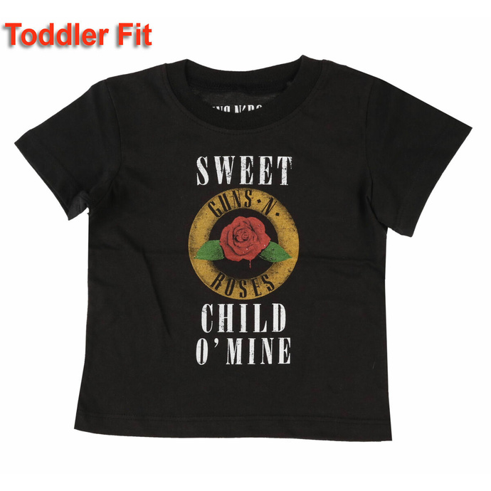 Kinder T-Shirt Guns N' Roses - Child O' Mine Rose