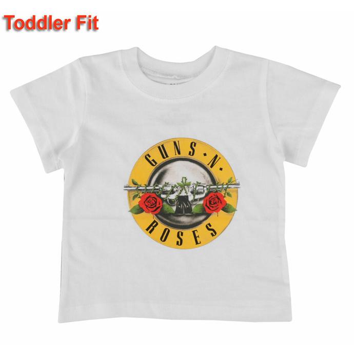 Kinder T-Shirt Guns N' Roses - Classic Logo - WHT