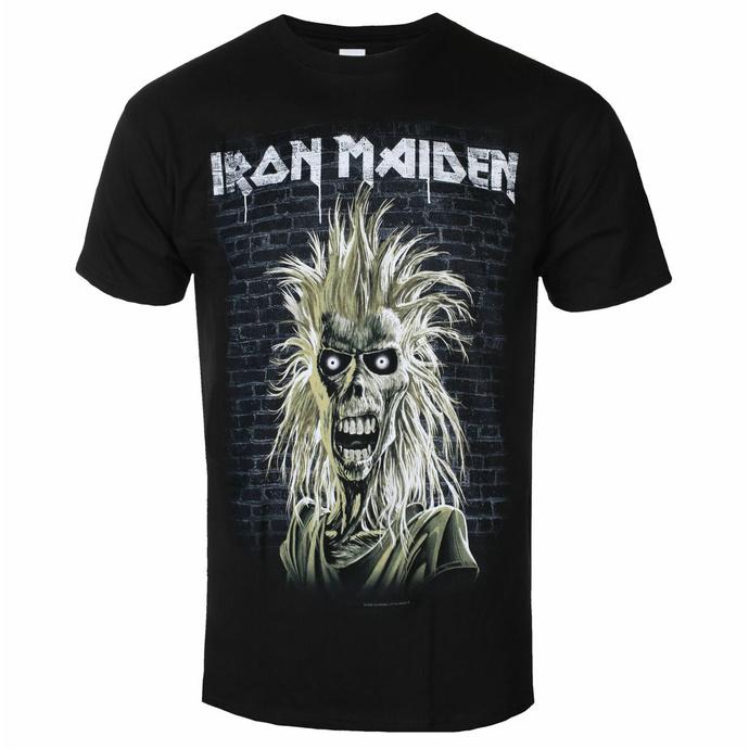 Herren-T-Shirt Iron Maiden - Eddie 40th Jahrestag BL - ROCK OFF
