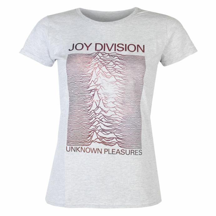 Damen-T-Shirt Joy Division - Space HEATHER - ROCK OFF