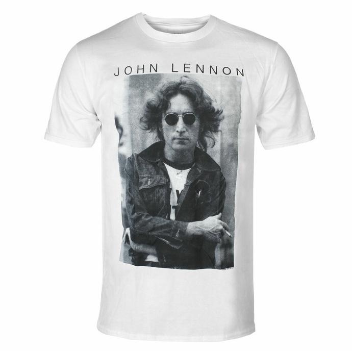 Herren-T-Shirt John Lennon - Windswept WHT - ROCK OFF