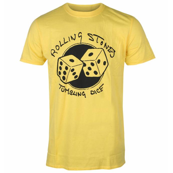 Herren-T-Shirt Rolling Stones - Tumbling Dice YELL - ROCK OFF