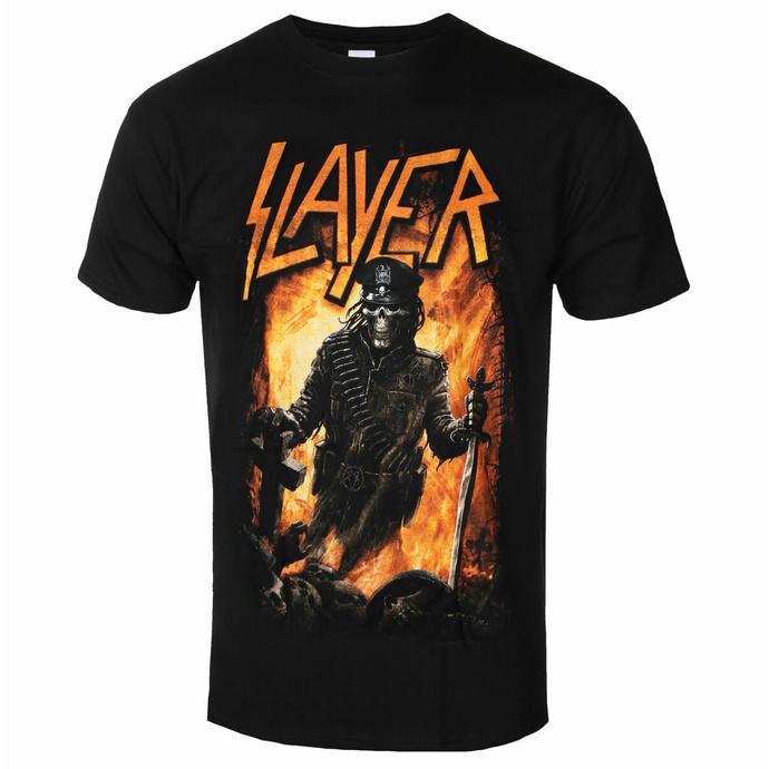 Herren-T-Shirt Slayer - Aftermath BL - ROCK OFF