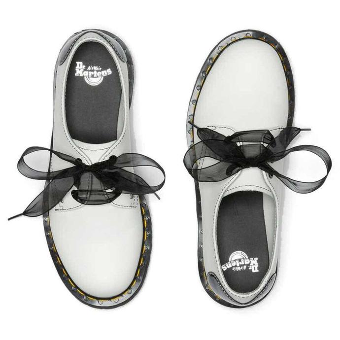 Damen Schuhe DR. MARTENS - 1461 Hearts - weiß / schwarz