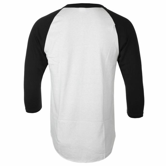 Herren 3/4 Arm Shirt Red Fang - Fang - Weiß - INDIEMERCH
