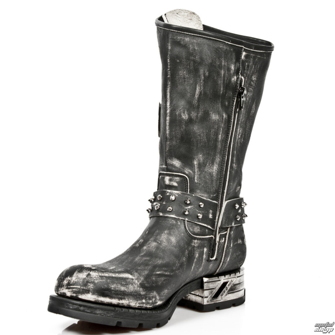 Stiefel NEW ROCK - VINTAGE RASPADO MOTOR OCK T.ACERO