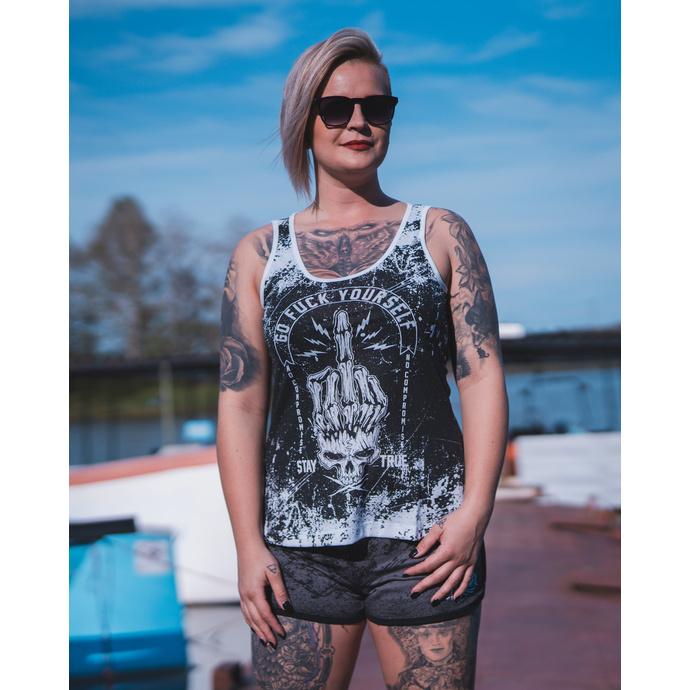 Damen Tanktop HYRAW - Graphic - GEHEN SCHEISSE