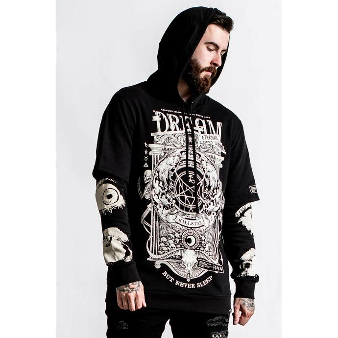 Herren Sweatshirt KILLSTAR - Insomnia Layer - schwarz