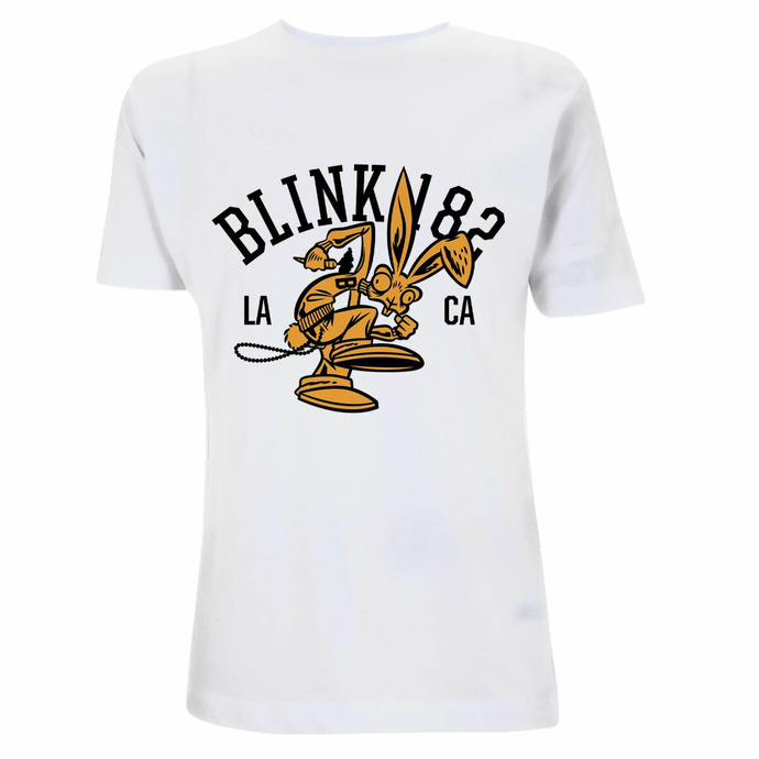 Herren T-Shirt Blink 182 - College Mascot