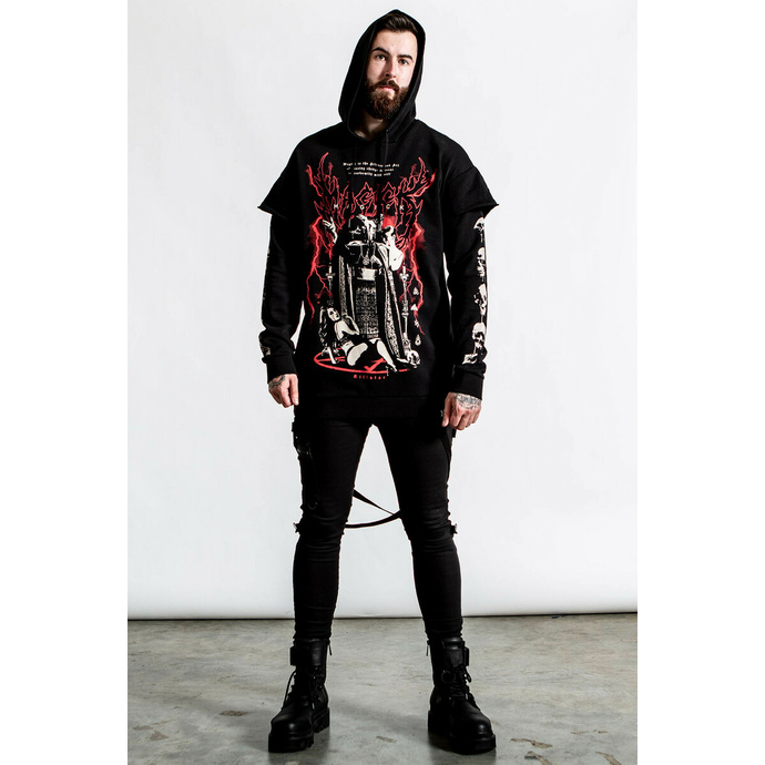 Herren Sweatshirt KILLSTAR - Magick 2-Layer - schwarz