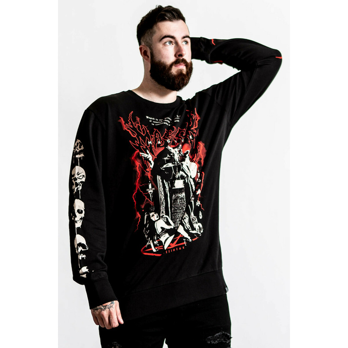 Herren Sweatshirt KILLSTAR - Magick - schwarz