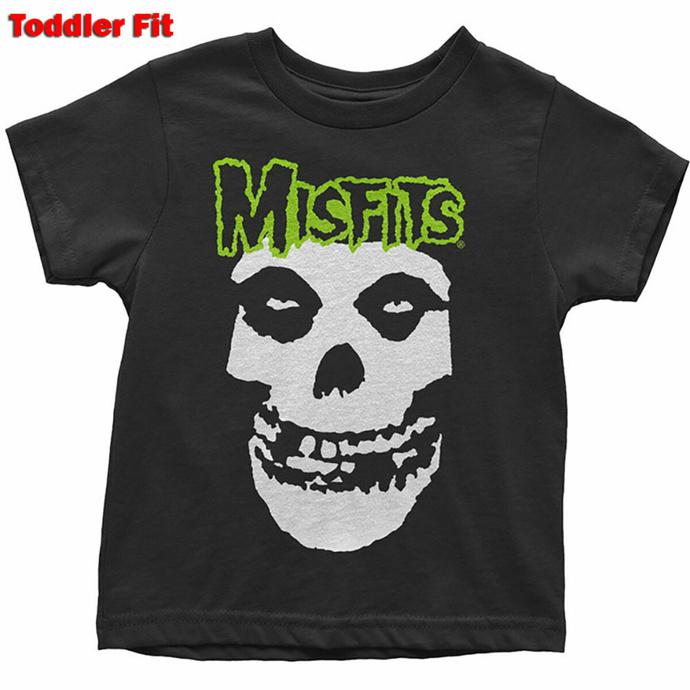 Kinder T-Shirt Misfits - Skull & Logo- & &