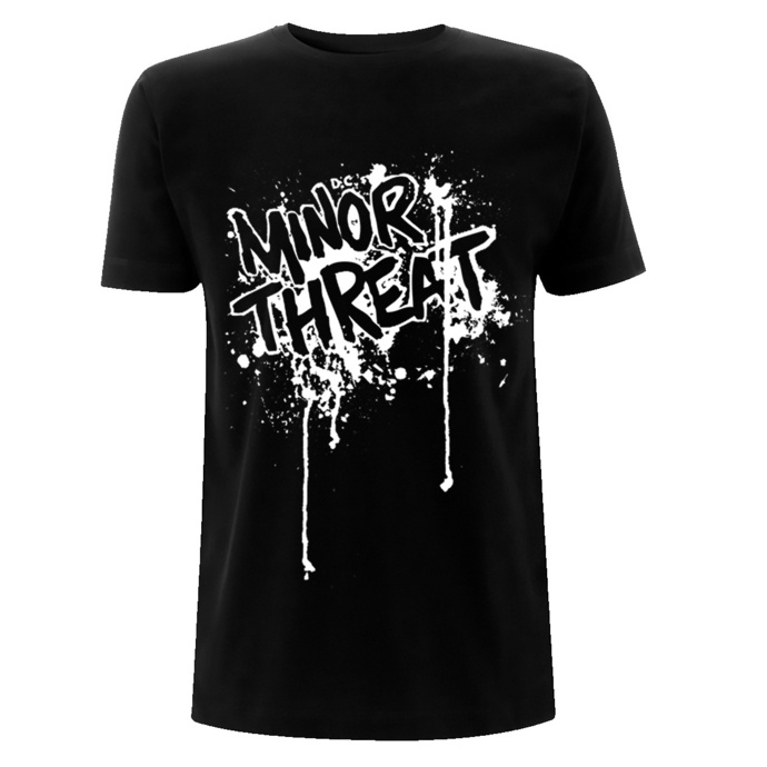 Herren T-Shirt Minor Threat - Drips