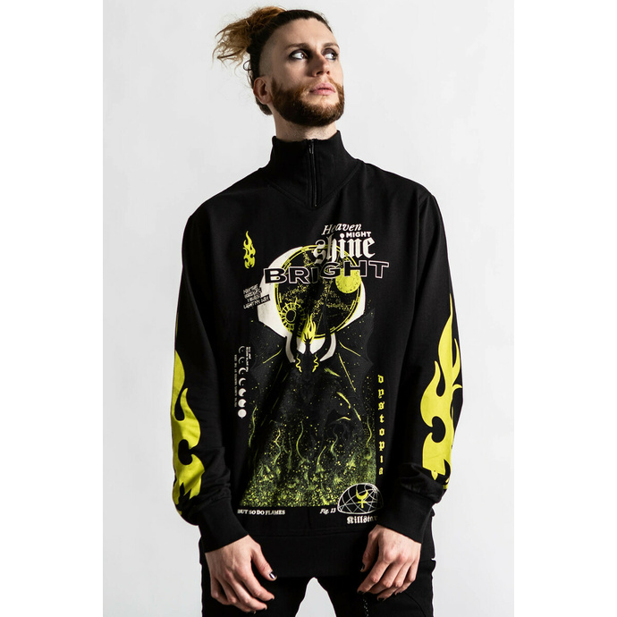 Unisex Sweatshirt KILLSTAR - Shine Bright Track - Schwarz
