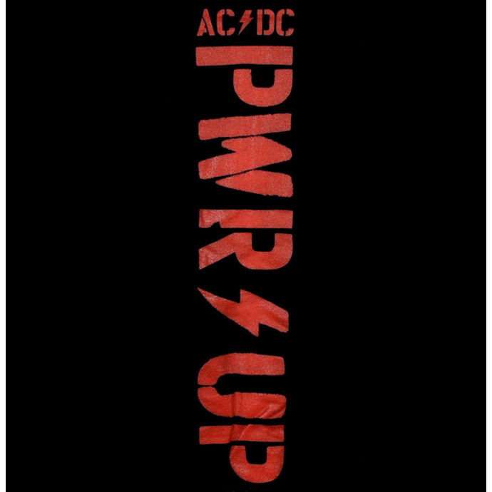 Herren Hoodie AC / DC - POWER UP - Kabel - RAZAMATAZ