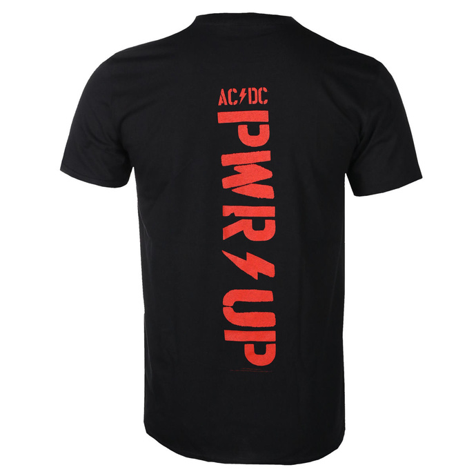 Herren T-Shirt AC / DC - POWER UP - Kabel - RAZAMATAZ