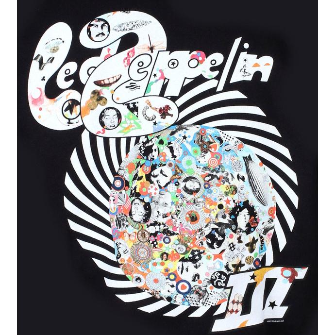 Herren Hoodie Led Zeppelin - Swirl III - Schwarz