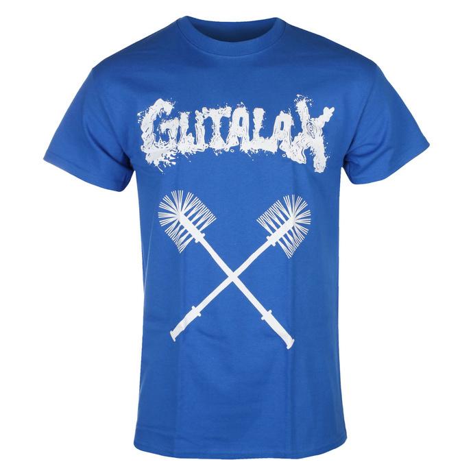 Herren T-Shirt GUTALAX - toilet brushes - royal blue - ROTTEN ROLL REX