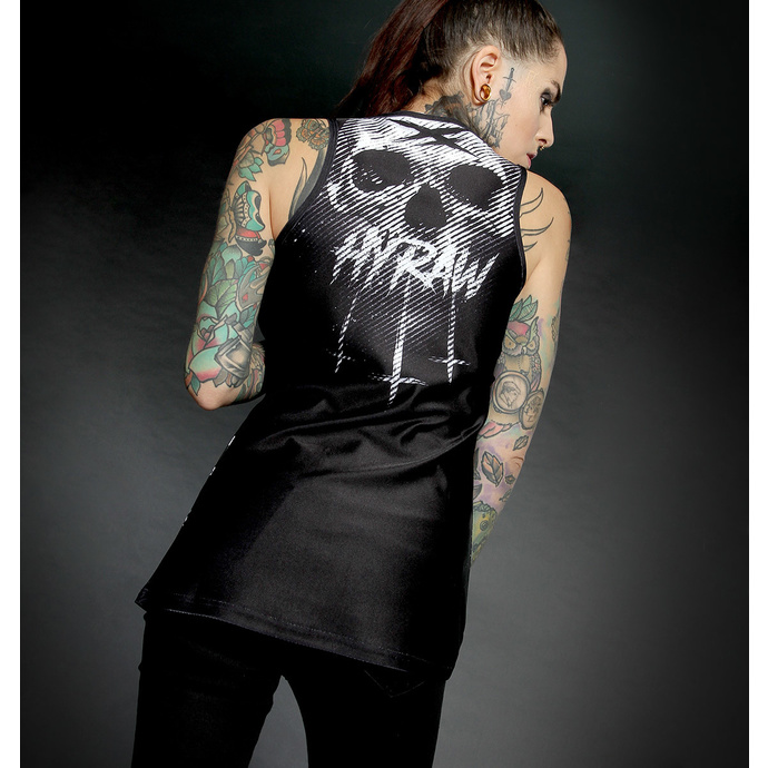 Damen Tanktop HYRAW - Graphic - BLACK STRIPES
