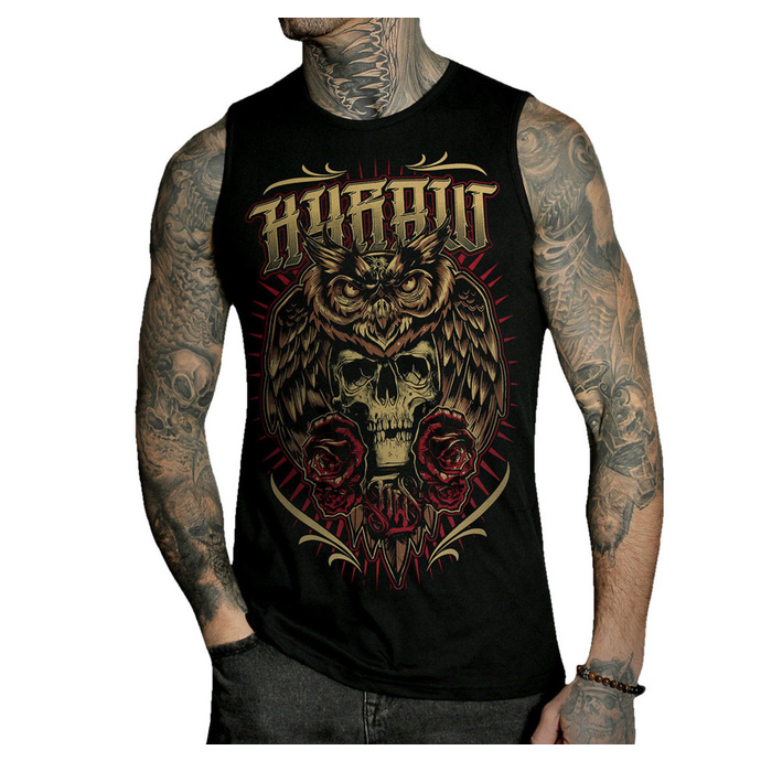 Herren Tanktop HYRAW - DEAD OWL