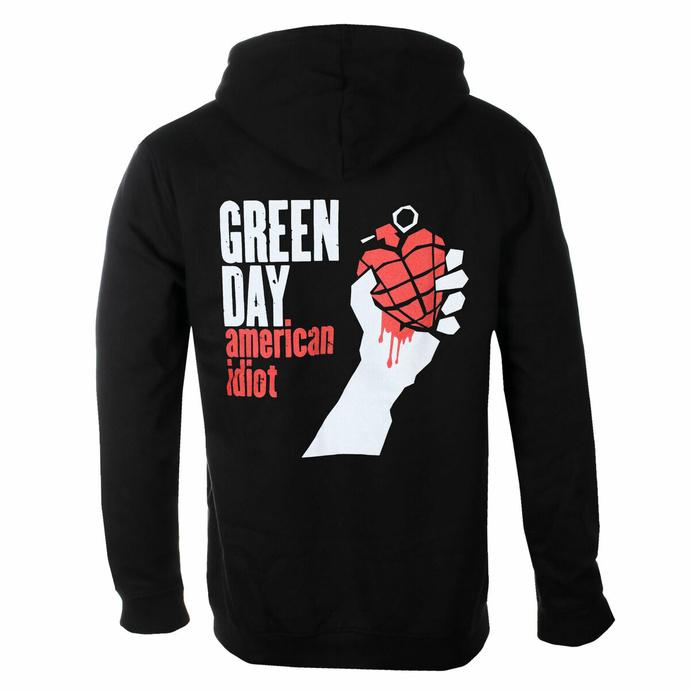 Herren Hoodie Green Day - American Idiot - ROCK OFF