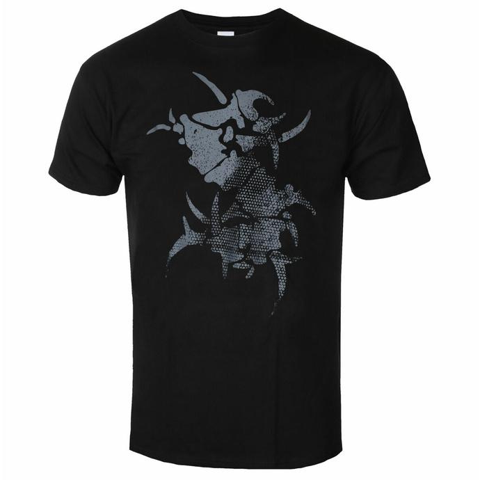 Herren T-Shirt Sepultura - WITH Logo - Schwarz - INDIEMERCH