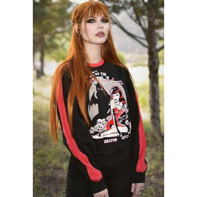 Damenpullover KILLSTAR - Sie Devil Pullover - Schwarz