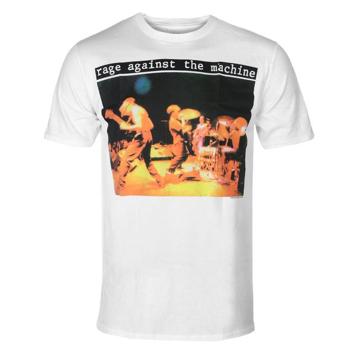 Herren T-Shirt Rage against the machine - Anger Gift - Weiß