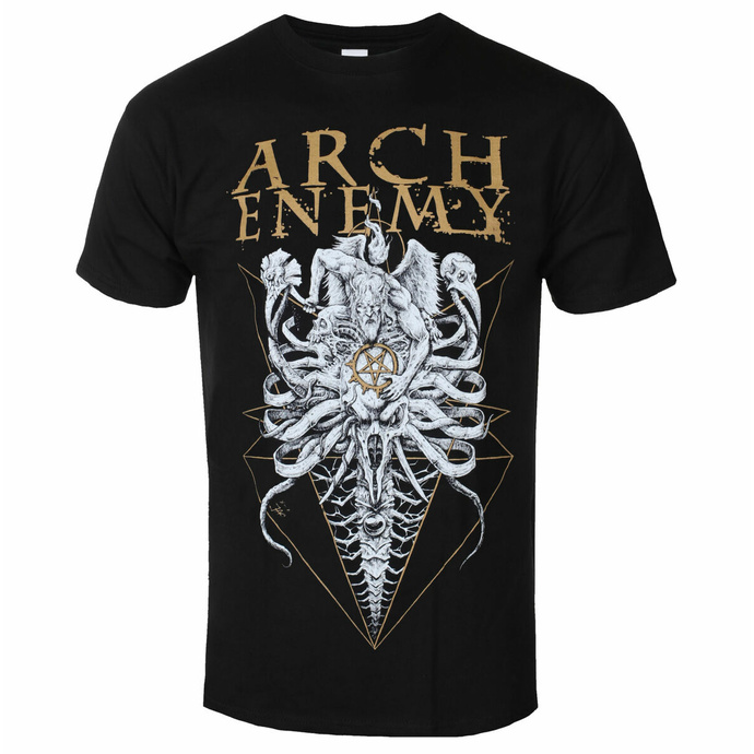 Herren T-Shirt Arch Enemy - A Fight I Must Win Tour 2019