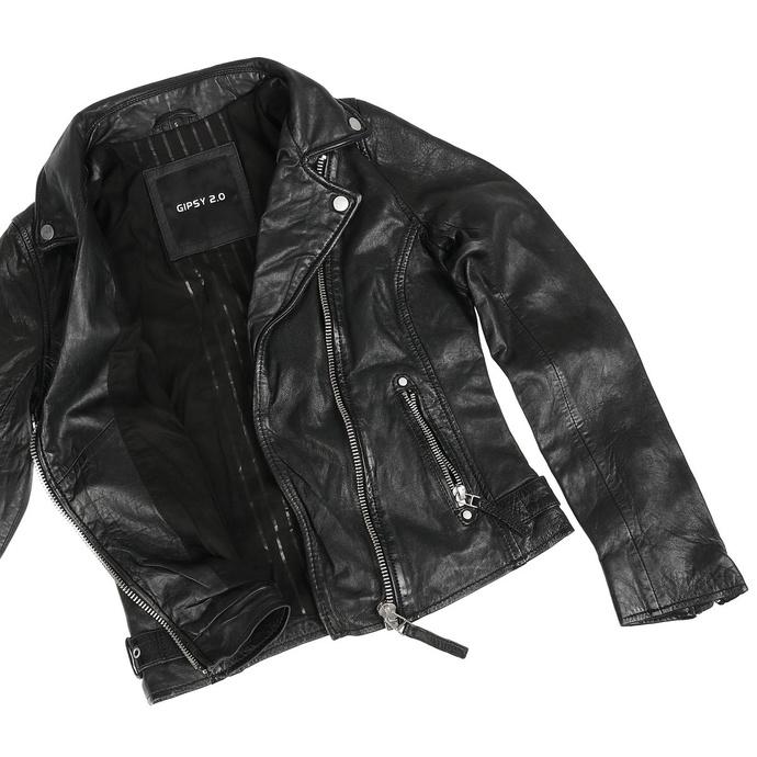 Damen (Biker) Jacke Piper SF LVW - Black