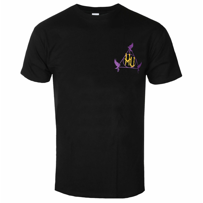 Herren T-Shirt HOLLYWOOD UNDEAD - purple and gold