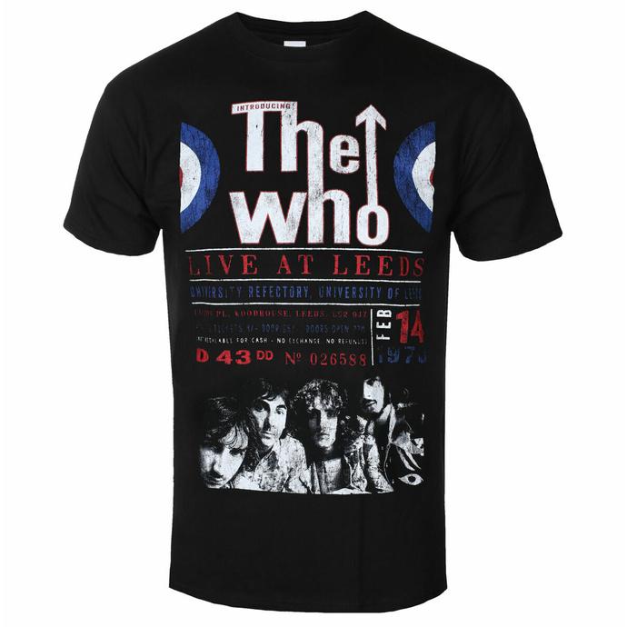 Herren T-Shirt The Who - Live At Leeds '70