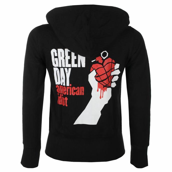 Damen Hoodie Green Day - American Idiot - ROCK OFF