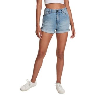 Damen Shorts URBAN CLASSICS - lt. authenticblue washed, URBAN CLASSICS