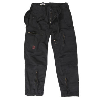 Herren Hose SURPLUS - INFANTRY CARGO - Schwarz GE, SURPLUS