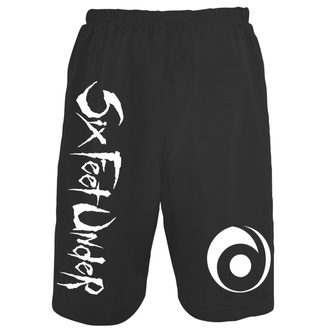 Herren Shorts Six Feet Under - Logo Mesh, ART WORX, Six Feet Under