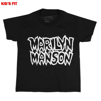 Kinder T-shirt Marilyn Manson - Classic Logo, ROCK OFF, Marilyn Manson