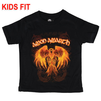 Kinder T-shirt Amon Amarth - Burning Eagle, Metal-Kids, Amon Amarth