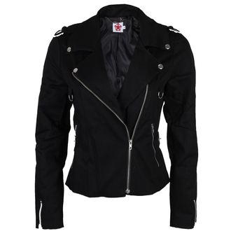 Damenjacke BLACK PISTOL - Biker - Schwarz, BLACK PISTOL