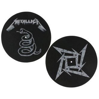Grammophon Matte - 2 Stück - Metallica - RAZAMATAZ, RAZAMATAZ, Metallica