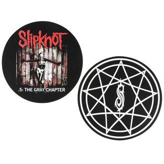 Grammophon Matte - 2 Stück - Slipknot - RAZAMATAZ, RAZAMATAZ, Slipknot